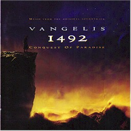 Cover from the Vangelis album: 1492