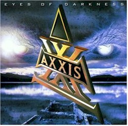 sleeve scan from Axxis : Eyes of darkness (lyrics)