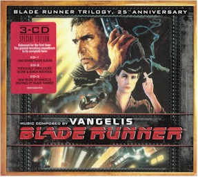 Cover from Vangelis CD-box: Blade runner trilogy: 25th anniversary