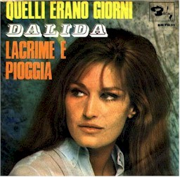 cover from Dalida : Lacrime e pioggia lyrics