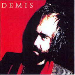 Sleeve from the Demis Roussos album: Demis (lyrics)