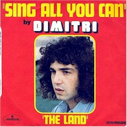 Dimitri : sing all you can + the land lyrics