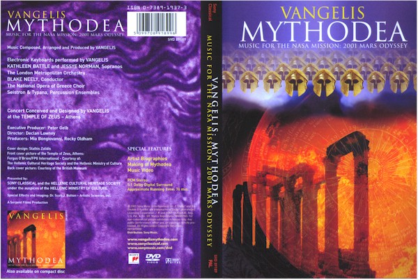 cover picture from Mythodea DVD