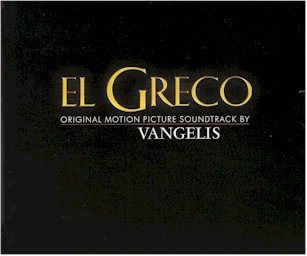 Cover from: El greco: Original motion picture soundtrack
