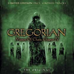 "Cover from ""Gregorian: Masters of the chant chapter IV"" lyrics"
