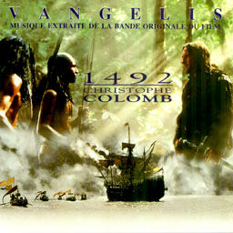 Cover from the Vangelis album: Conquest of paradise