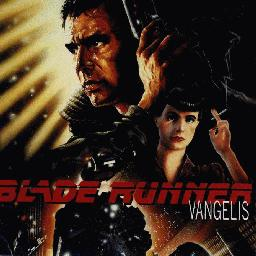 Sleeve scan from the Vangelis album: Blade runner
