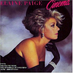 sleeve scan  from: Elaine Paige : Cinema lyrics
