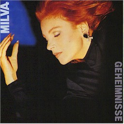 Cover from the Vangelis and Milva album: Geheimnisse