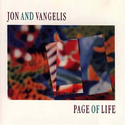 Cover from: Page of life (Jon and vangelis) lyrics