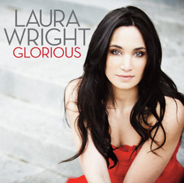 Sleeve from the Laura Wright album: Glorious (lyrics)