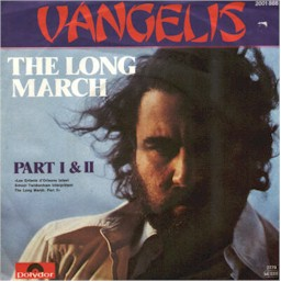 Cover from the Vangelis single: The long march pt.1 and 2