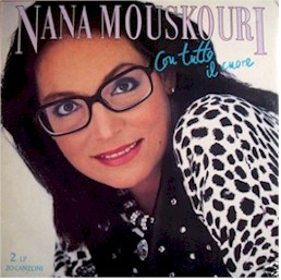 Cover from the Nana Mouskouri album: Con tutto il cuore