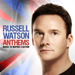 Sleeve from the Russell Watson Anthems lyrics (Race to the end) Chariots of fire