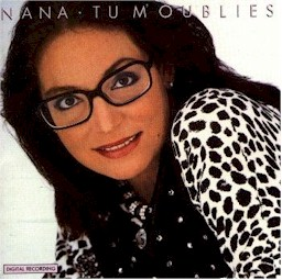 Cover from the Nana Mouskouri album: Tu m'oublies