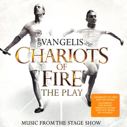 sleeve scan from the Vangelis album: Chariots of fire : the play lyrics