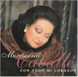 Cover from the album: Con todo mi corazon (Montserrat Caballe & Vangelis)