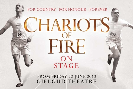 Poster Chariots of fire on stage
