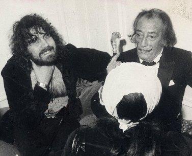 Vangelis and Salvador Dali