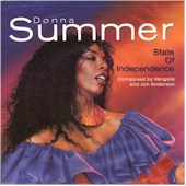 Donna Summer CD-single: State of Independence lyrics